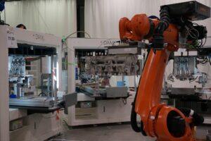 DAM Group machine spéciale etanchéité - ilot robotisé