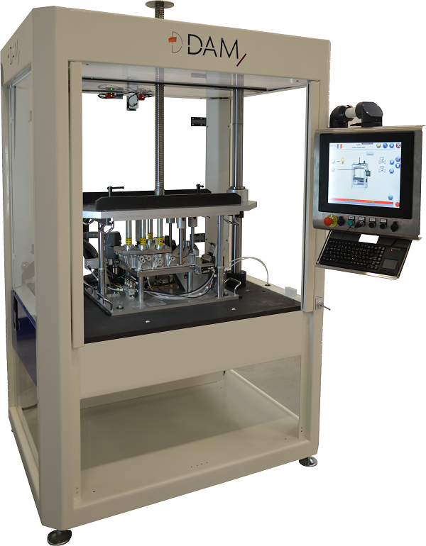 DAM Group - Machine de test d'étanchéité - Outillage interchangeable - DG 10 020