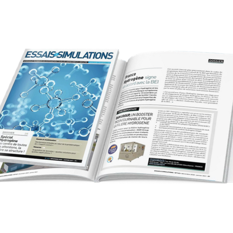 Hydrogen solutions – Special report from ESSAIS & SIMULATIONS french magazine