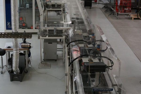 1_DAM Group Test Module boite de vitesse ligne automatisée hydraulique production