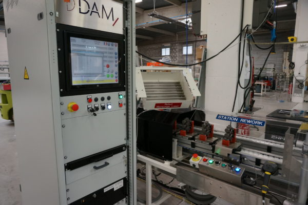 4_DAM Group Test Module boite de vitesse ligne automatisée production HIM