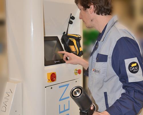 test fuite haute pression etancheite hydrogen 400 bar 800 bar securité opérateur DAM Group