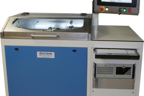 Banc de calibration servovalve hydraulique DAM Group HD