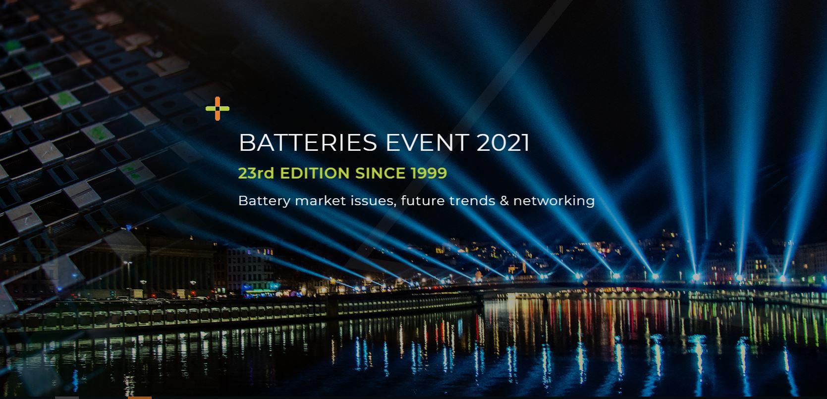 DAM Group at BATTERIES EVENT LYON 2021