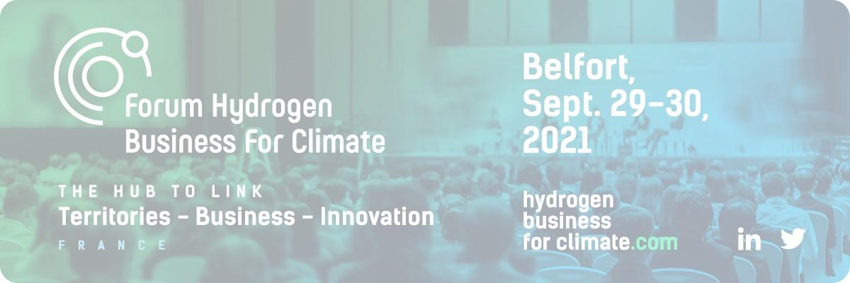 DAM Group sponsor of Forum Hydrogen Business for Climate – Belfort